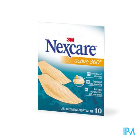 Nexcare 3m Active 360 Assortiment 10