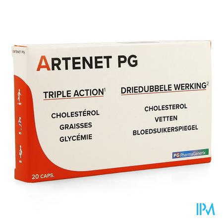 Artenet Pg Pharmagenerix Caps 20