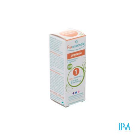 Puressentiel Expert Geranium Bio Huile Essentielle 5 ml