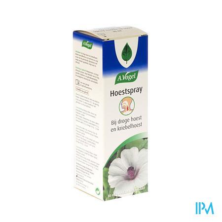 Afbeelding A. Vogel Hoestspray bij Droge Hoest en Kriebelhoest 30 ml.