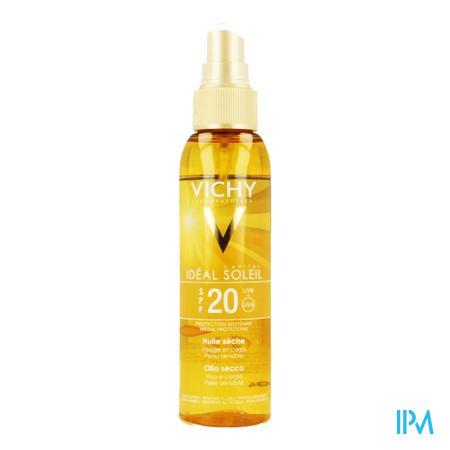 Afbeelding Vichy Capital Soleil Zonneolie met SPF 20 Spray 125 ml.