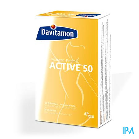 Davitamon Active 50+ Women 60 tabletten
