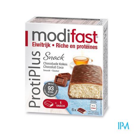 Modifast Proti Plus Barre Coco 6 x 27 g