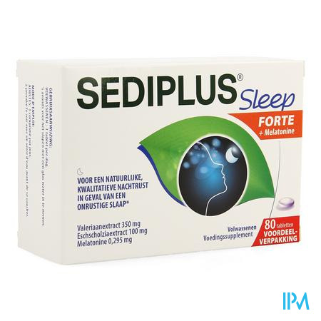 Sediplus Sleep Forte Comp 80