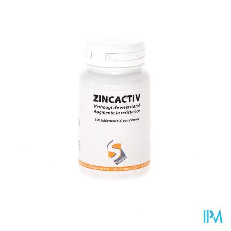 Zincactiv 22.5mg 100 comprimés