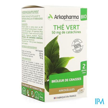 Arkocaps Groene Thee Bio Caps 130