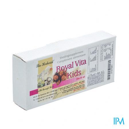 Herborist Royal Vita Kids Amp 20x3ml 0750