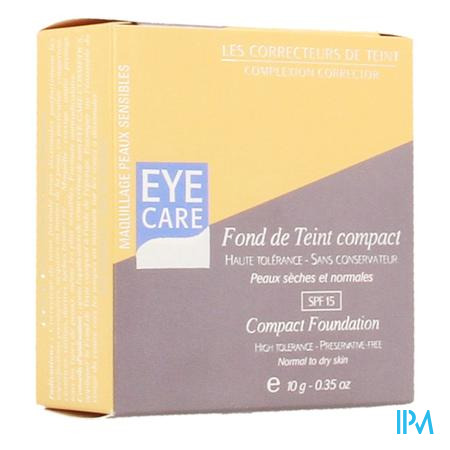 Eye Care Fond de Teint Compact Honing Normale-Droge Huid 10 g