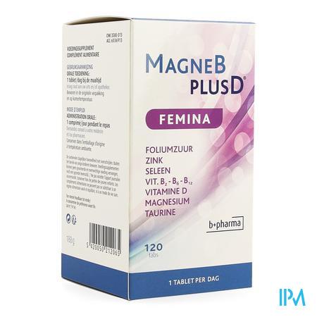 Magne B Plus D Femina 120 Caps