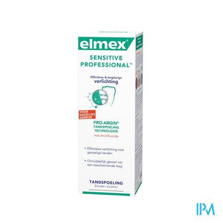Elmex Sensitive Prof Mondspoeling 400 ml
