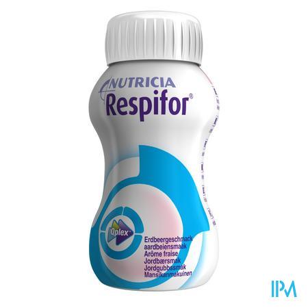 Respifor Aardbei 4x125 ml