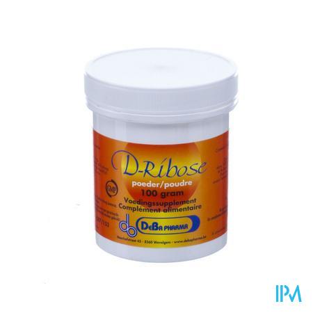 Ribose Poeder Oplosbaar 100 gr  -  Deba Pharma