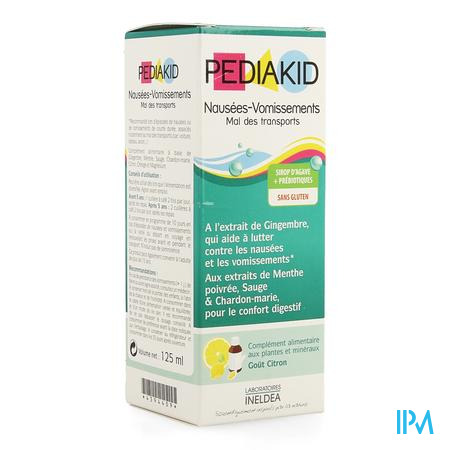 Pediakid Mal Des Transports Oplossing Drink Flacon 125 ml