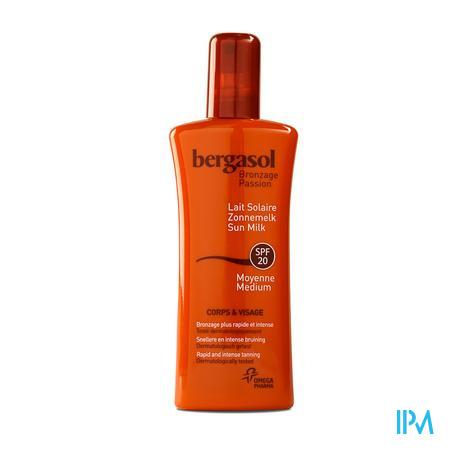 Bergasol Fris Melkspray SPF 20 125 ml
