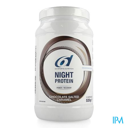 6d Night Protein Chocolate Salted Caramel 520g