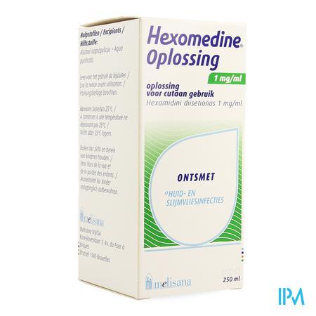 Hexomedine Sol 250ml 0,1%