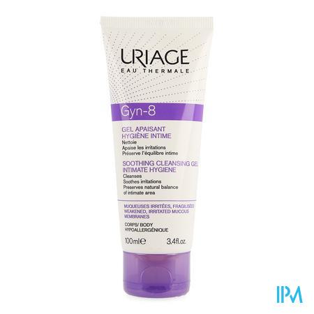 Afbeelding Uriage Gyn-8 Verzachtende Reinigende Gel voor Intieme Hygiëne Tube 100 ml.