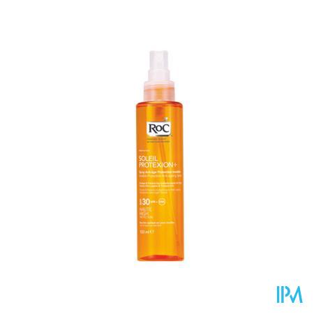 Afbeelding Roc Soleil Protexion Onzichtbare Anti-Ageing Zonnespray met SPF 30 voor Lichaam 150 ml.