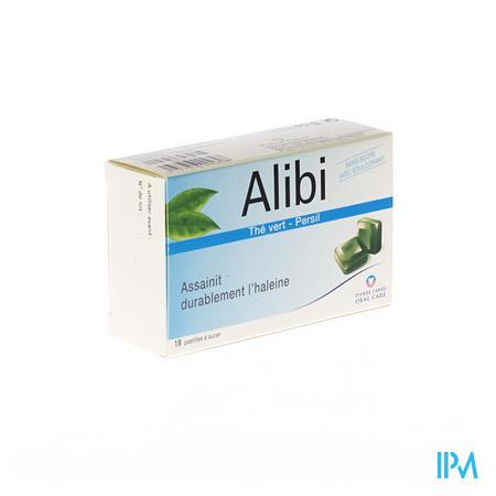 Alibi Pastilles A Sucer 18 pièces