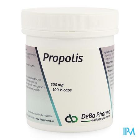 Propolis Capsule 100x500 mg Deba