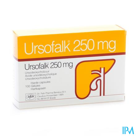 Ursofalk Caps 100 X 250mg