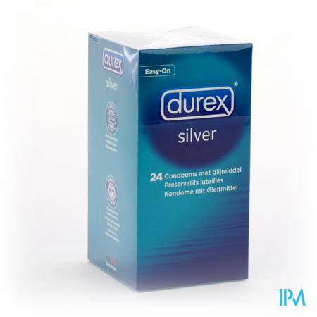 DUREX SILVER CONDOMS 24