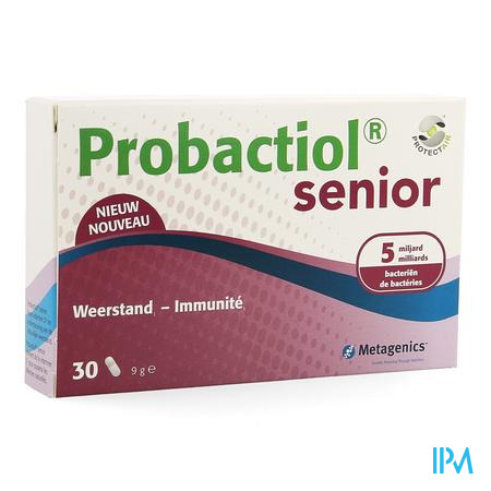 Probactiol Senior Blister Capsule 30  -  Metagenics