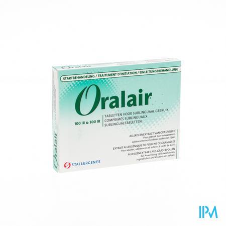 Oralair 100ir-300ir 3comp Subl 3x100 Ir 28x300 Ir