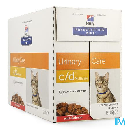 Hills Prescrip.diet Feline Cd Salmon 12x85g 1882u