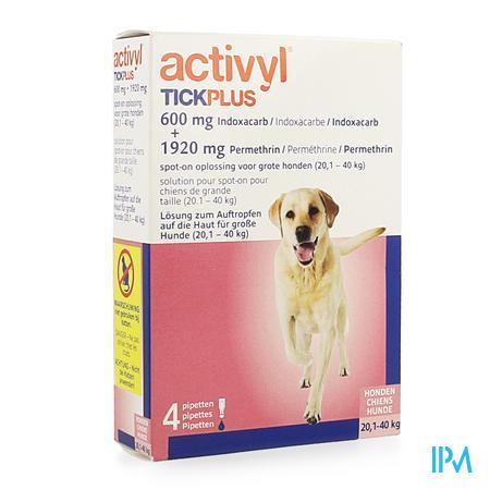 Activyl Tick Plus Opl. Spot-on 4x4ml