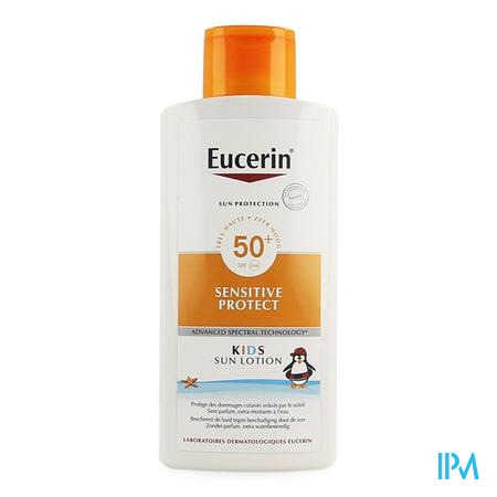 Eucerin Sun Sensit. Prot Kids Lotion Spf 50+400ml