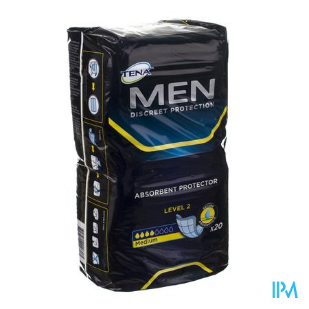 Tena Men Level 2 20 750776  -  Sca Hygiene Products/Incont Care