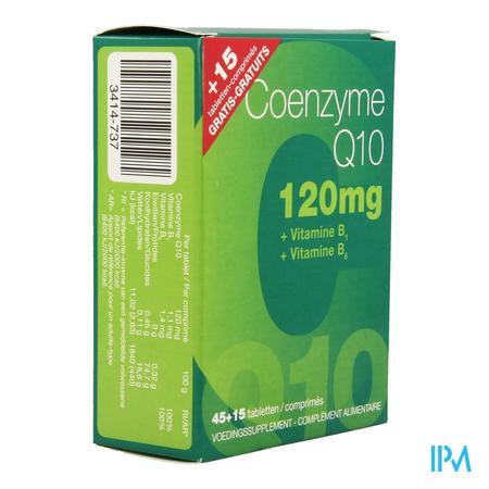 Coenzyme Q10 120mg Nf Tabl 45 + 15 Gratis 6910