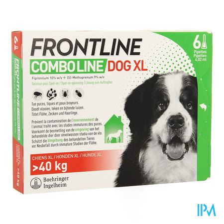 Frontline Combo Line Dog Xl >40kg 6x4,02ml