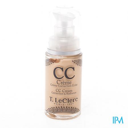 Afbeelding T. LeClerc CC Crème SPF 20   01 Clair 28 ml.