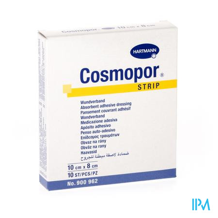 Cosmopor Strip Pflaster          8x10cm 10