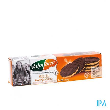Valpi Biscuit Chocolat Sans Gluten 150 g