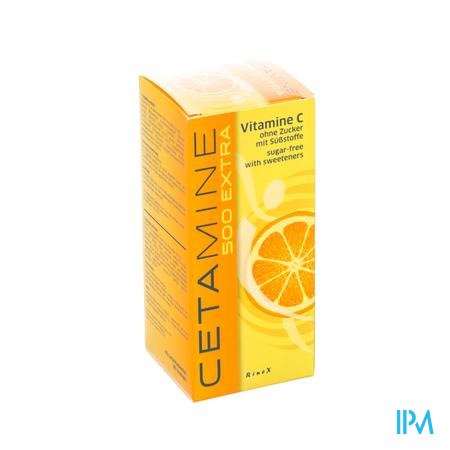 Cetamine 500 Extra zonder suiker Zuigtabletten 60