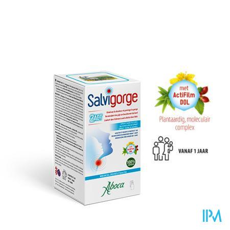 Salvigorge Spray Z/alcohol 30ml