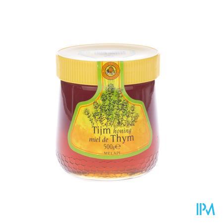 Melapi Honing Thijm Zacht 500 g