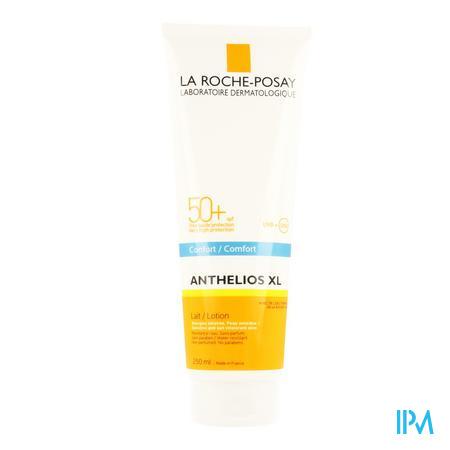 Afbeelding La Roche-Posay Anthelios XL Comfort Zonnemelk SPF 50+ voor Gelaat en Lichaam 250 ml.