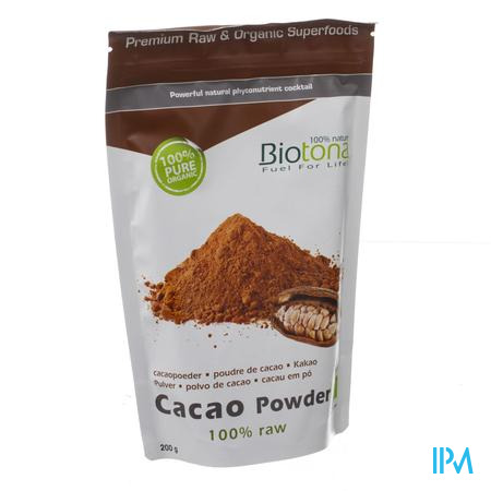 Biotona Bio Cacaopoeder 200 g