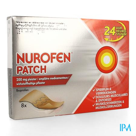 Nurofen Patch 200 mg Pleister 8
