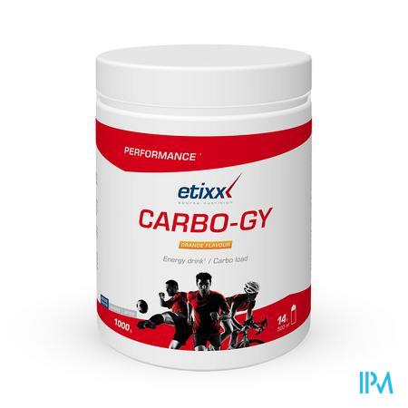 Afbeelding Etixx Carbo-Gy met Sinaasappelsmaak 1 kg.