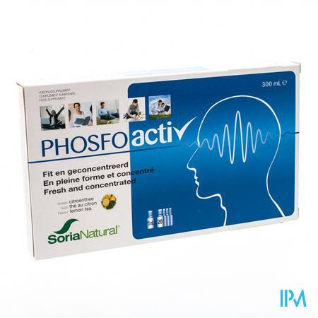 Afbeelding Soria PhosfoActiv Fit en Geconcentreerd Ampullen 20 x 15 ml.