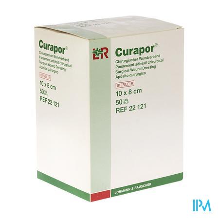 Curapor Pans Adh Steril 8Cmx10Cm 22121 50 pièces