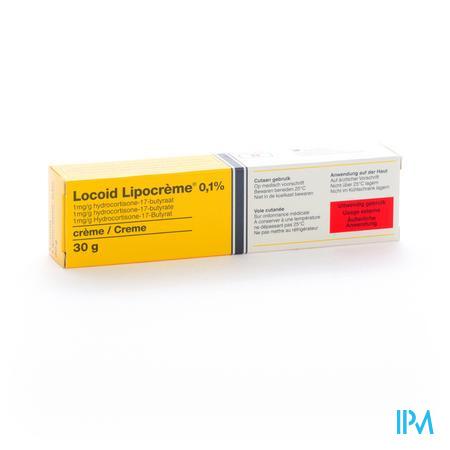 Locoid Lipocreme 0,1% 30g