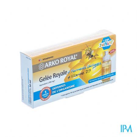 Arkoroyal Probiot. Enf Ruche Royale Doses 5x7,5 ml