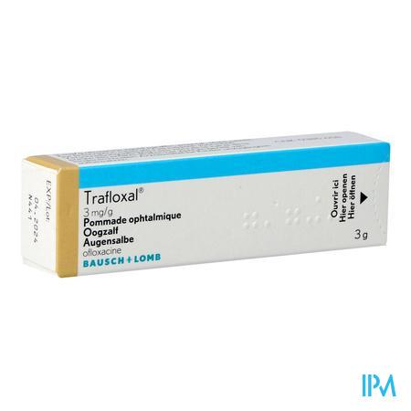 Trafloxal Pomm Opht 3g