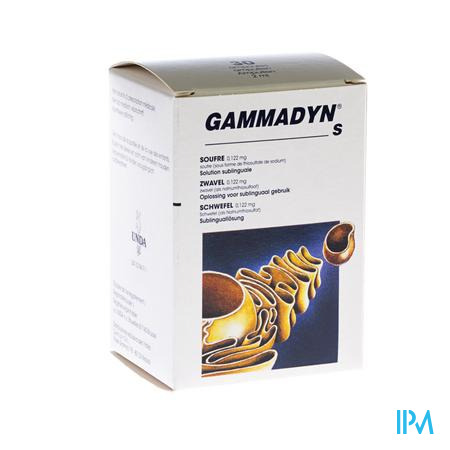 Gammadyn Ampullen 30 X 2 ml S  -  Unda - Boiron